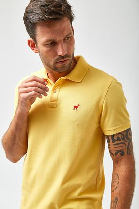 Polo-Lhama-Stretch----Amarelo