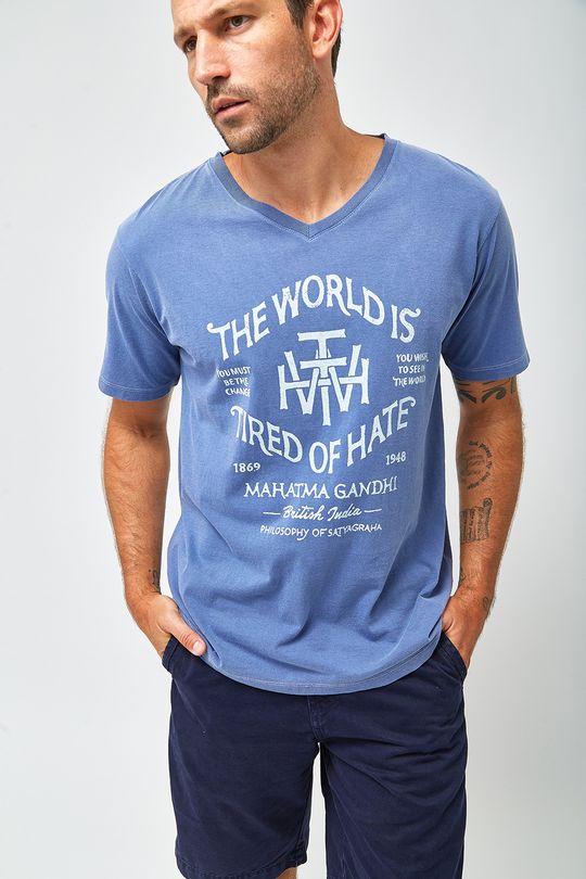 Camiseta-Gandhi---Marinho