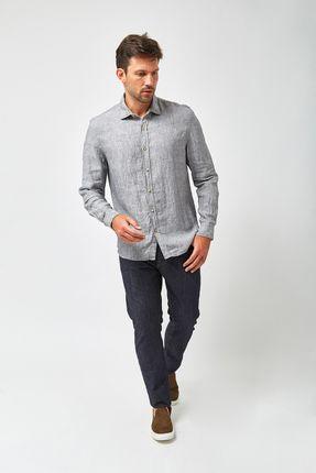 Camisa-Linho-100----Preto