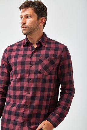 Camisa-Flanela-Xadrez---Preto-e-Vinho