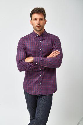 Camisa-Xadrez-BD---Preto-e-Vermelho