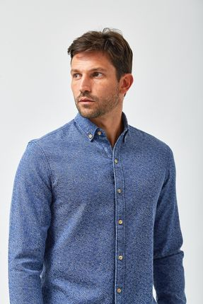 Camisa-Frankie-Jacquard---Indigo