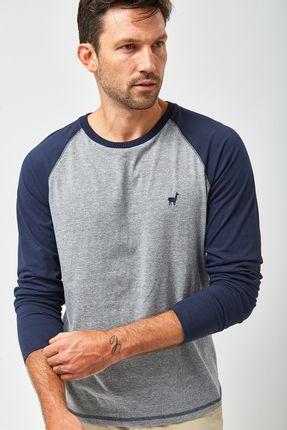 Camiseta-Manga-Longa-Raglan---Cinza-Mescla-Marinho