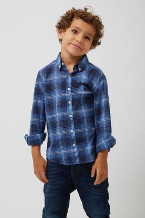 Camisa-Xadrez-Leve-Boys---Azul