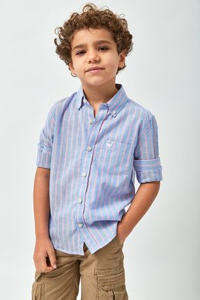 Camisa-Oxford-Listra-Rosa-Boys---Azul-e-Rosa