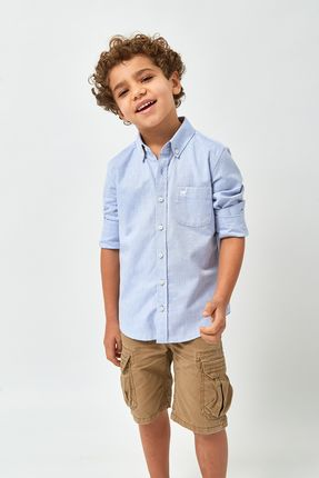 Camisa-Oxford-Boys---Azul