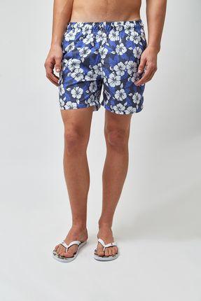 Shorts-Hibisco-Bicolor---Estampado