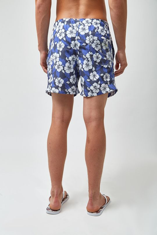 Shorts-Hibisco-Bicolor---Estampado