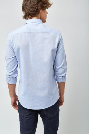Camisa-Oxford---Azul