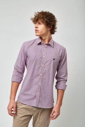 Camisa-Vichy-Bicolor---Azul-Vermelho-e-Branco