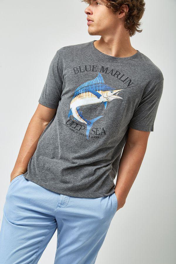 Camiseta-Blue-Marlin---Cinza-Mescla