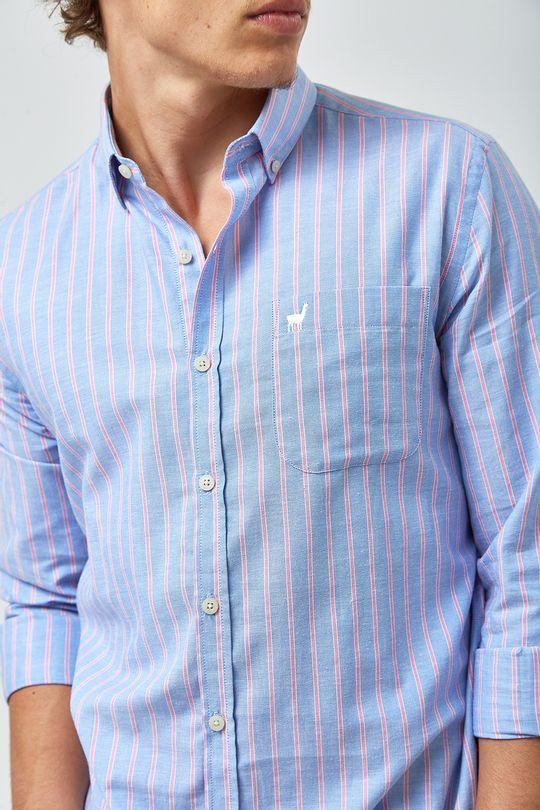 Camisa-Oxford-Listra-Rosa---Azul-e-Rosa