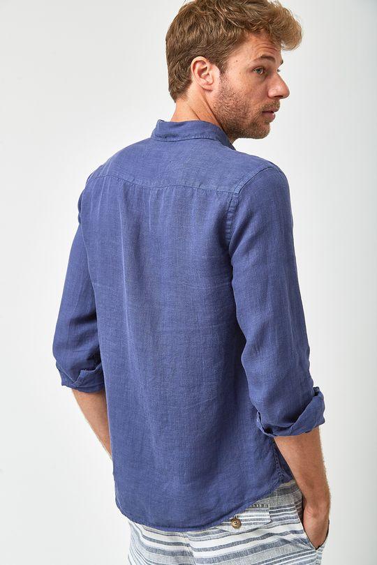 Camisa-Linho-100----Marinho