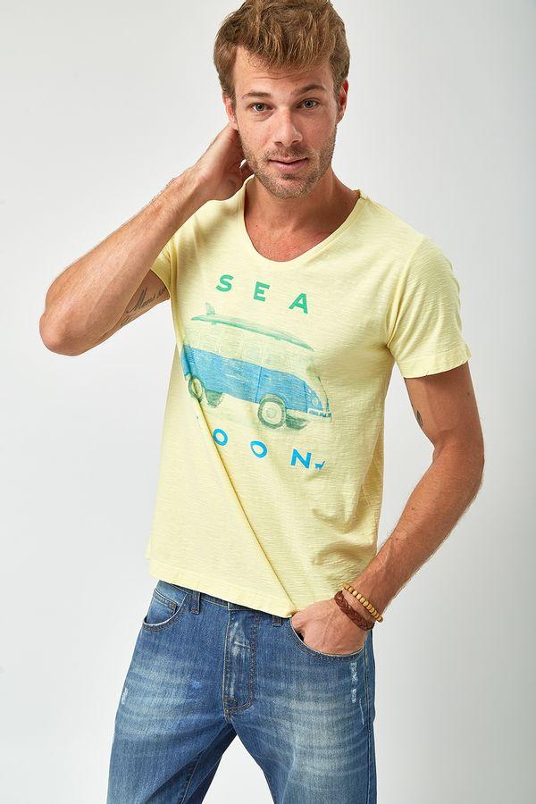 Camiseta-Sea-Soon---Amarelo-Claro