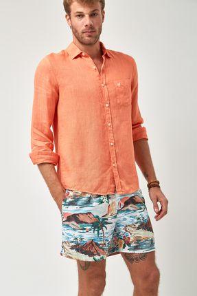 Camisa-Linho-100----Coral
