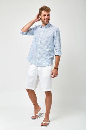 Camisa-Listrada-Leve---Azul-Claro-e-Branco