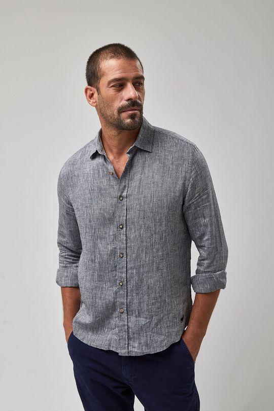 Camisa-Linho-Mescla---Preto