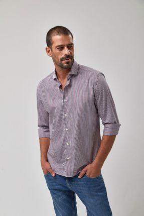 ee1448f600 Camisa Mini Xadrez GI - Vermelho