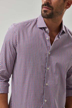 Camisa-Mini-Xadrez-GI----Vermelho