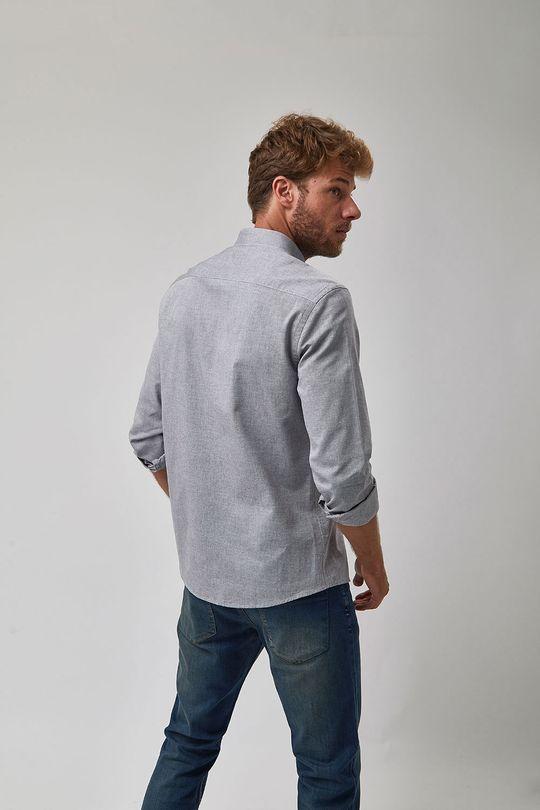 Camisa-Oxford---Cinza