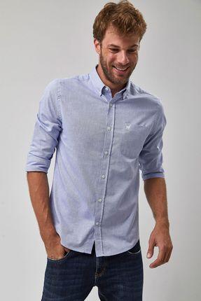 Camisa-Oxford---Azul