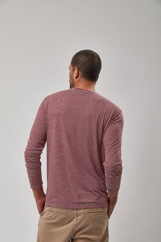 Camiseta-M-L-Listrada---Vinho-E-Branco