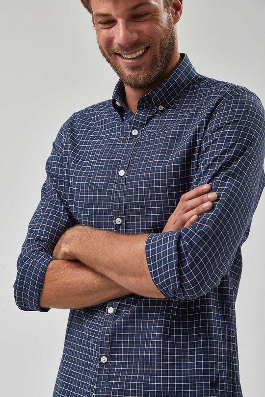 Camisa-Oxford-Xadrez---Marinho