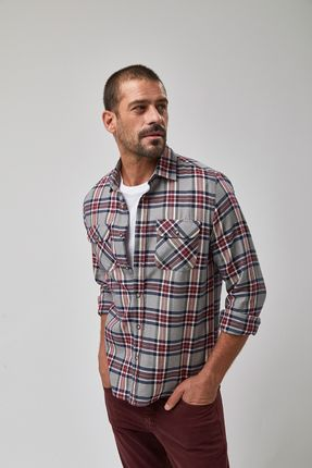 Camisa-Xadrez-2-Bolsos---Marinho-E-Vinho