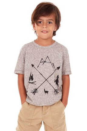 Camiseta-Arrows-Boys---Cinza-Mescla-