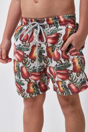 Shorts-Caju-Boys---Estampado---Tamanho-4