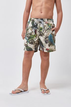 Shorts-Arara-Boys---Estampado---Tamanho-4