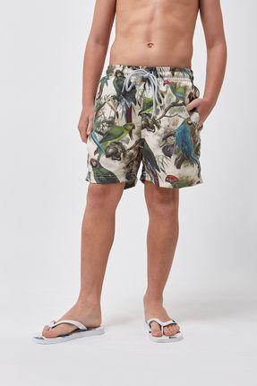 Shorts-Arara-Boys---Estampado---Tamanho-10