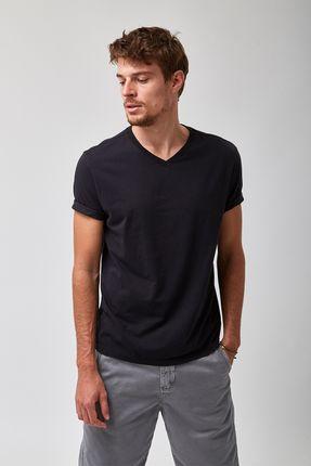Camiseta-V-Neck---Preto---Tamanho-P