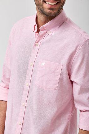 Camisa-Linho-Misto-Listradinha---Rosa---Tamanho-P