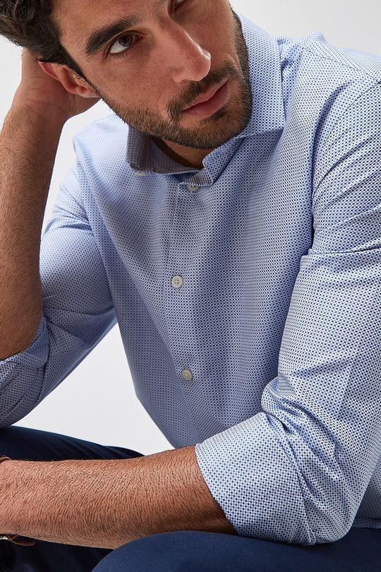 Camisa-Maquinetada-Premium---Azul---Tamanho-P