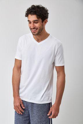 Camiseta-V-Neck---Branco---Tamanho-P