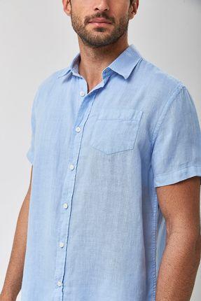Camisa-Linho-MC---Azul-Claro---Tamanho-GG