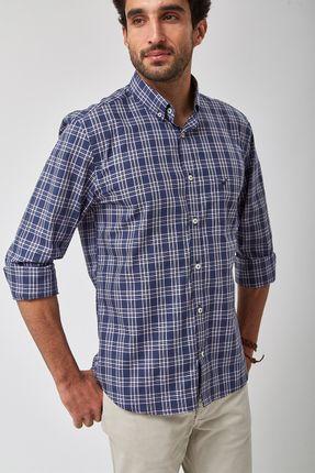 Camisa-Bd-Xadrez---Marinho---Tamanho-X