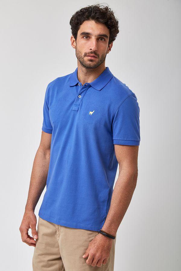 Polo-Lhama-Stretch---Azul-Colonial---Tamanho-P