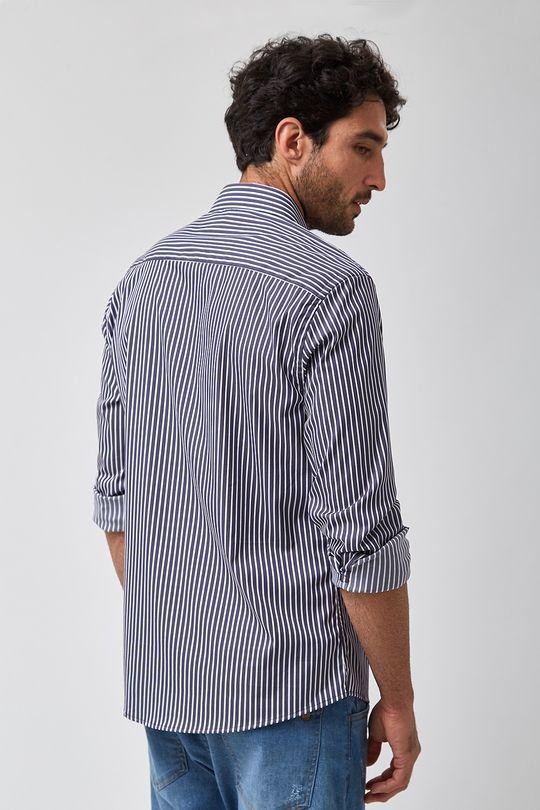 Camisa-Listrada-Escura---Branco-Com-Marinho---Tamanho-P