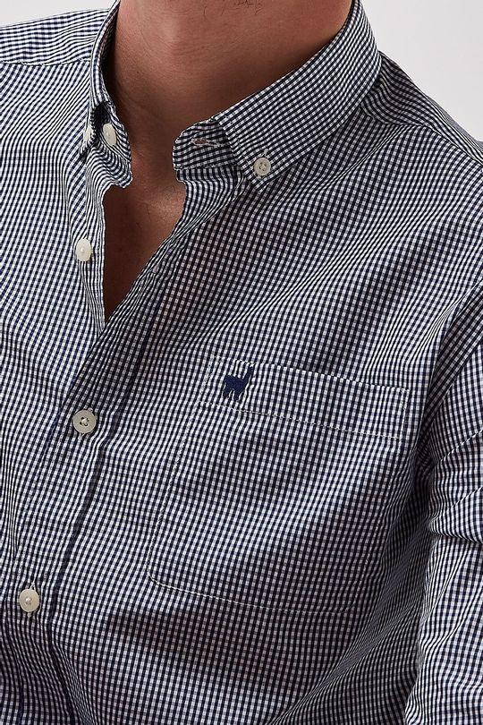 Camisa-Bd-Mini-Vichy---Marinho---Tamanho-P