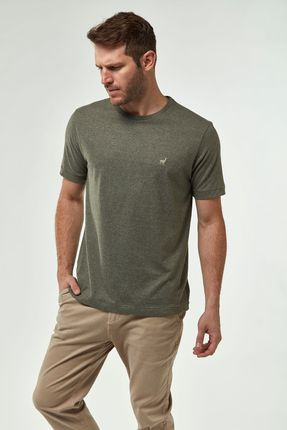 Camiseta-Eco-Malha-Mescla---Oliva---Tamanho-P