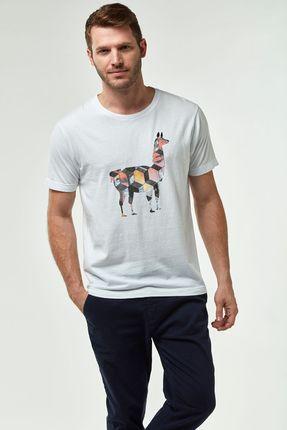 Camiseta-Lhama-Fotos---Branco---Tamanho-M