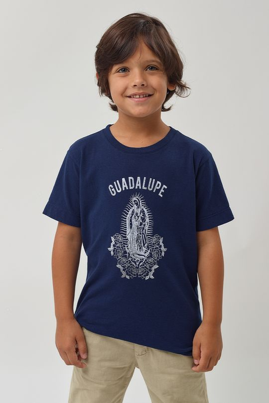 Camiseta-Guadalupe-Boys---Marinho---Tamanho-2