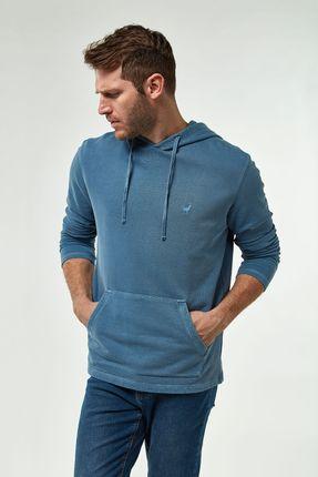 Moletinho-Canguru-Tinturado---Azul-Jeans---Tamanho-G