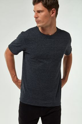 Camiseta-Eco-Flame-Com-Bolso---Cinza-Chumbo---Tamanho-P