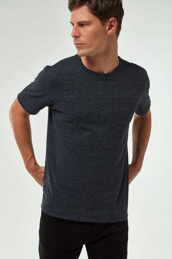 Camiseta-Eco-Flame-Com-Bolso---Cinza-Chumbo---Tamanho-GG