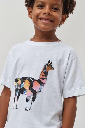 Camiseta-Lhama-Foto-Boys---Branco---Tamanho-8
