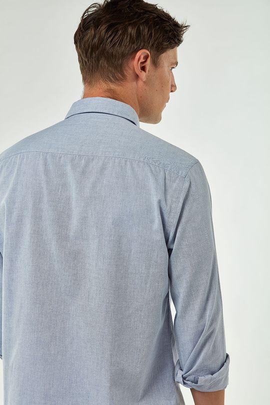 Camisa-Chambray---Azul---Tamanho-P