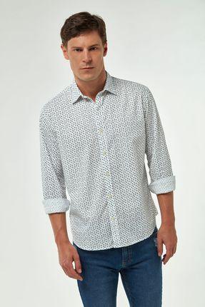 Camisa-Micro-Estampa---Branco-C-Marinho---Tamanho-M